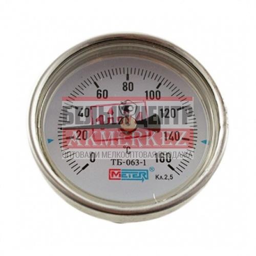 Термометр биметаллический 150°C L=100, 60 (50) купить