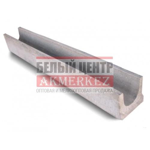 Лоток водоотводный бетонный DN100 H125 купить