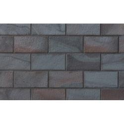 Тротуарная  плитка Stroeher 336 metallic black, 240*115*18 мм