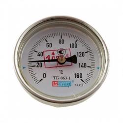Термометр биметаллический 150°C L=100, 60 (50)