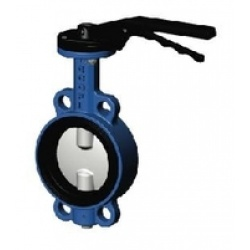Затвор дисковый поворотный VP3448 Ду100 Ру16 межфл Tecofi