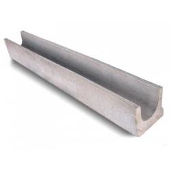 Лоток водоотводный бетонный DN100 H125