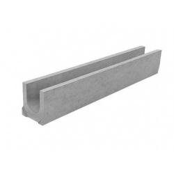 Лоток водоотводный бетонный DN100 H160