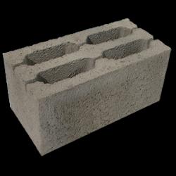 Блок стеновой четырехщелевой КБ-20