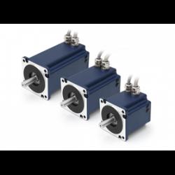 PD6-N89 - Plug & Drive высокий полюс DC Servo двигатель Nanotec для RS485 / CANopen IP65 - NEMA 34
