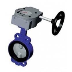 Затвор дисковый поворотный VP3448 Ду150 Ру16 межфл ред Tecofi